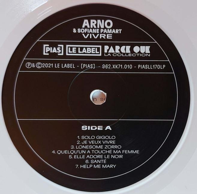 Arno Vivre Side A